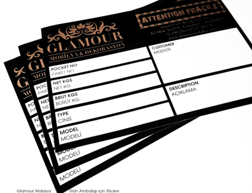 Glamour Sticker