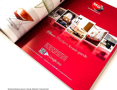 MobilyaDekorasyon.com Dergi Reklamları