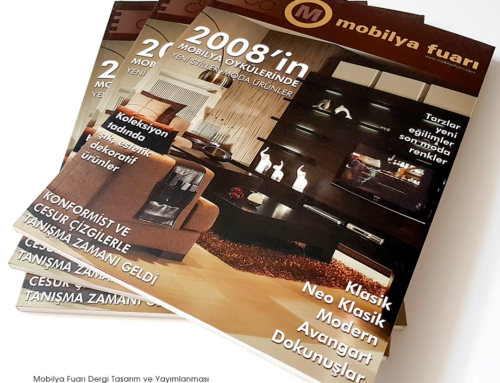 MOBİLYA FUARI Dergi Çalışması