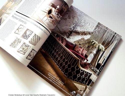Odak Mobilya Dergi Reklamları