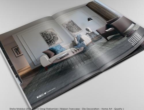 Stella Mobilya Dergi Reklamları