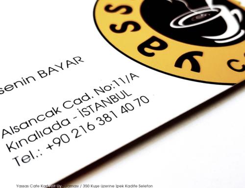 Yassas Cafe Kartvizitleri